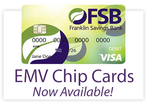 EMV Chip Cards Now Available