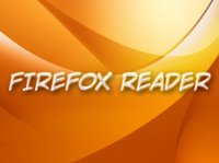 Firefox Reader Icon