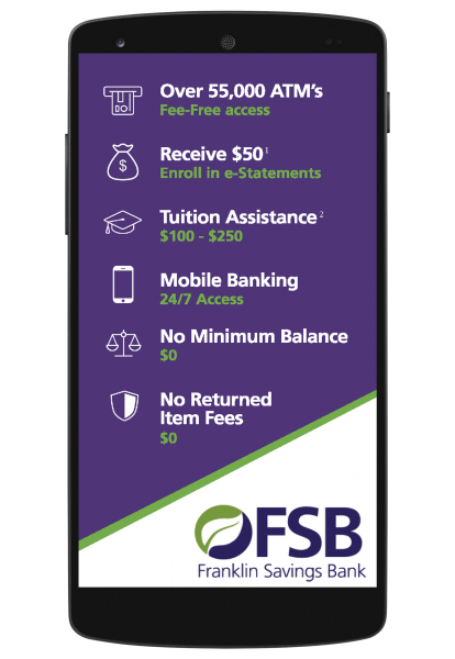 FSB Student Checking Perks
